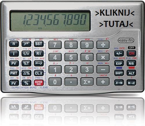 kalkulator dla technologów